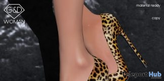 Leopard Pump October 2017 Group Gift by G&D The Italian Style - Teleport Hub - teleporthub.com