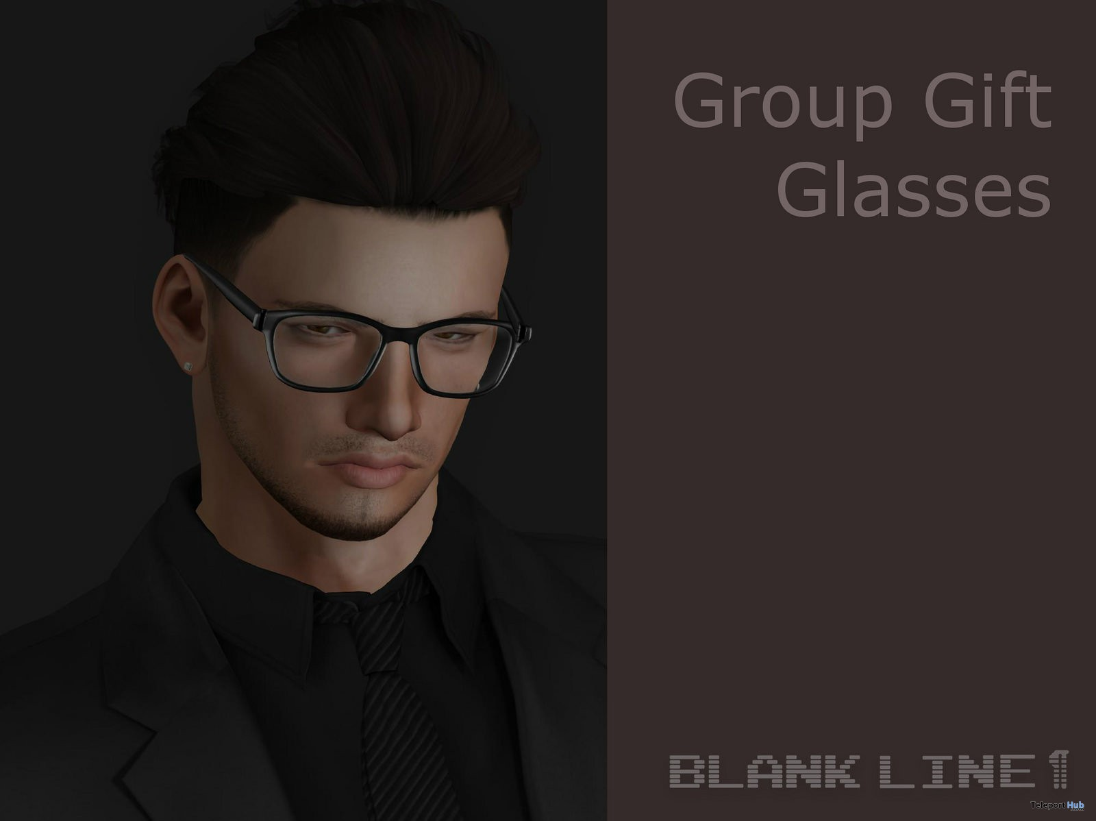Glasses October 2017 Group Gift by BlankLine - Teleport Hub - teleporthub.com