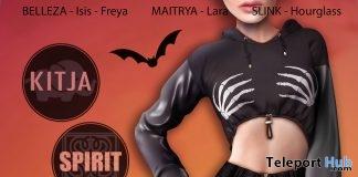 Halloween Sweatshirt & Skirt October 2017 Group Gift by KITJA x SPIRIT - Teleport Hub - teleporthub.com