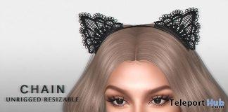 Halloween Lace Ears Halloween 2017 Group Gift by CHAIN - Teleport Hub - teleporthub.com