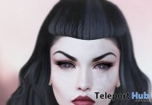 Lily Skin For Catwa Mesh Heads Halloween 2017 Gift by INSOL - Teleport Hub - teleporthub.com