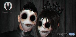 Unisex Halloween Mask October 2017 Group Gift by Moon Rabbit - Teleport Hub - teleporthub.com