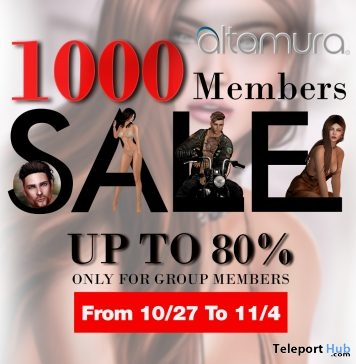 1000 Group Members Sale Up To 80% Off by Altamura - Teleport Hub - teleporthub.com