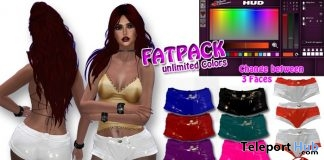 Hot Pants Latex Fatpack 99L Promo by Velvets Dreams - Teleport Hub - teleporthub.com