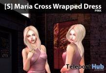 New Release: [S] Maria Cross Wrapped Dress by [satus Inc] - Teleport Hub - teleporthub.com
