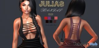 Cristine Dress Group Gift by Julia's Scandal - Teleport Hub - teleporthub.com