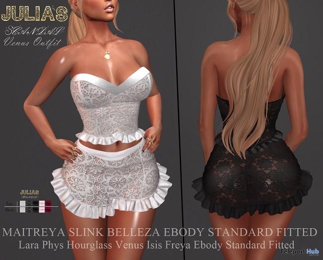 Venus Top & Skirt Group Gift by Julia's Scandal - Teleport Hub - teleporthub.com