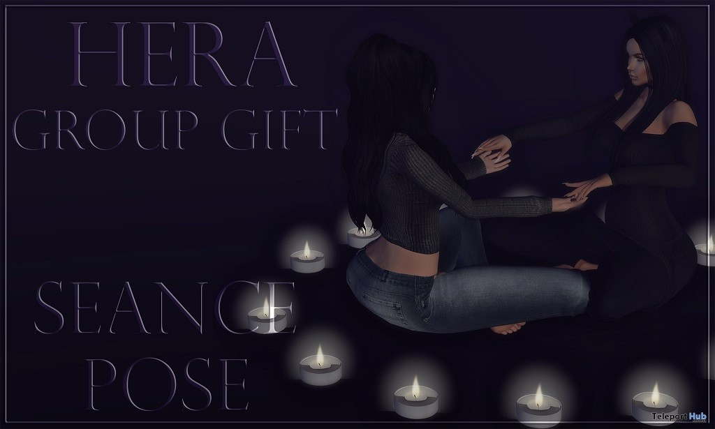 Seance Pose October 2017 Group Gift by HERA - Teleport Hub - teleporthub.com