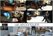 Her & His Second Life Pose Pack 5th Anniversary Gifts by Something New - Teleport Hub - teleporthub.com