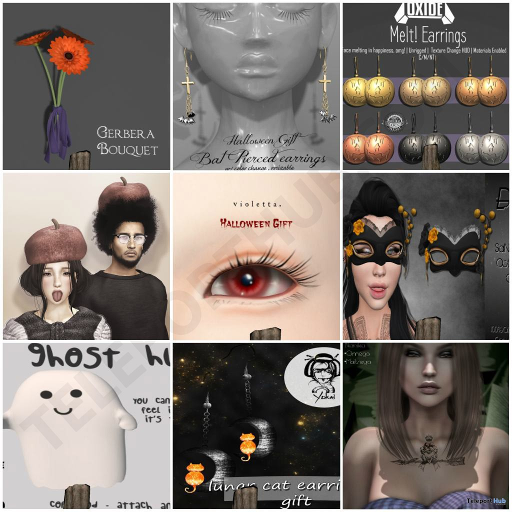 Several Group Gifts At SaNaRae Event October 2017 by Various Designers - Teleport Hub - teleporthub.com