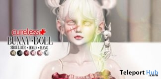 Bunny Doll October 2017 Group Gift by CURELESS [+] - Teleport Hub - teleporthub.com