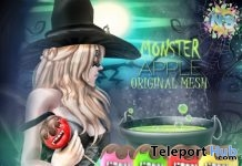 Monster Apple The Secret Hideout October 2017 Event Gift by NS - Teleport Hub - teleporthub.com