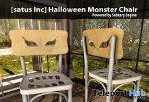 New Release: Halloween Monster Chair by [satus Inc] - Teleport Hub - teleporthub.com