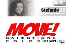 New Release: Stefanie Dance Pack by MOVE! Animations Cologne - Teleport Hub - teleporthub.com