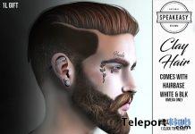 Clay Hair 1L Promo Gift by Speakeasy - Teleport Hub - teleporthub.com