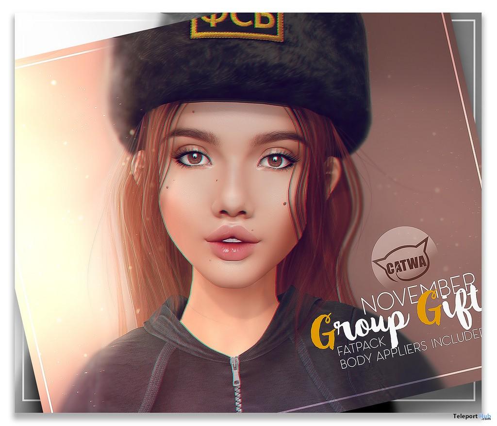 Lola Skin November 2017 Group Gift by PUMEC - Teleport Hub - teleporthub.com