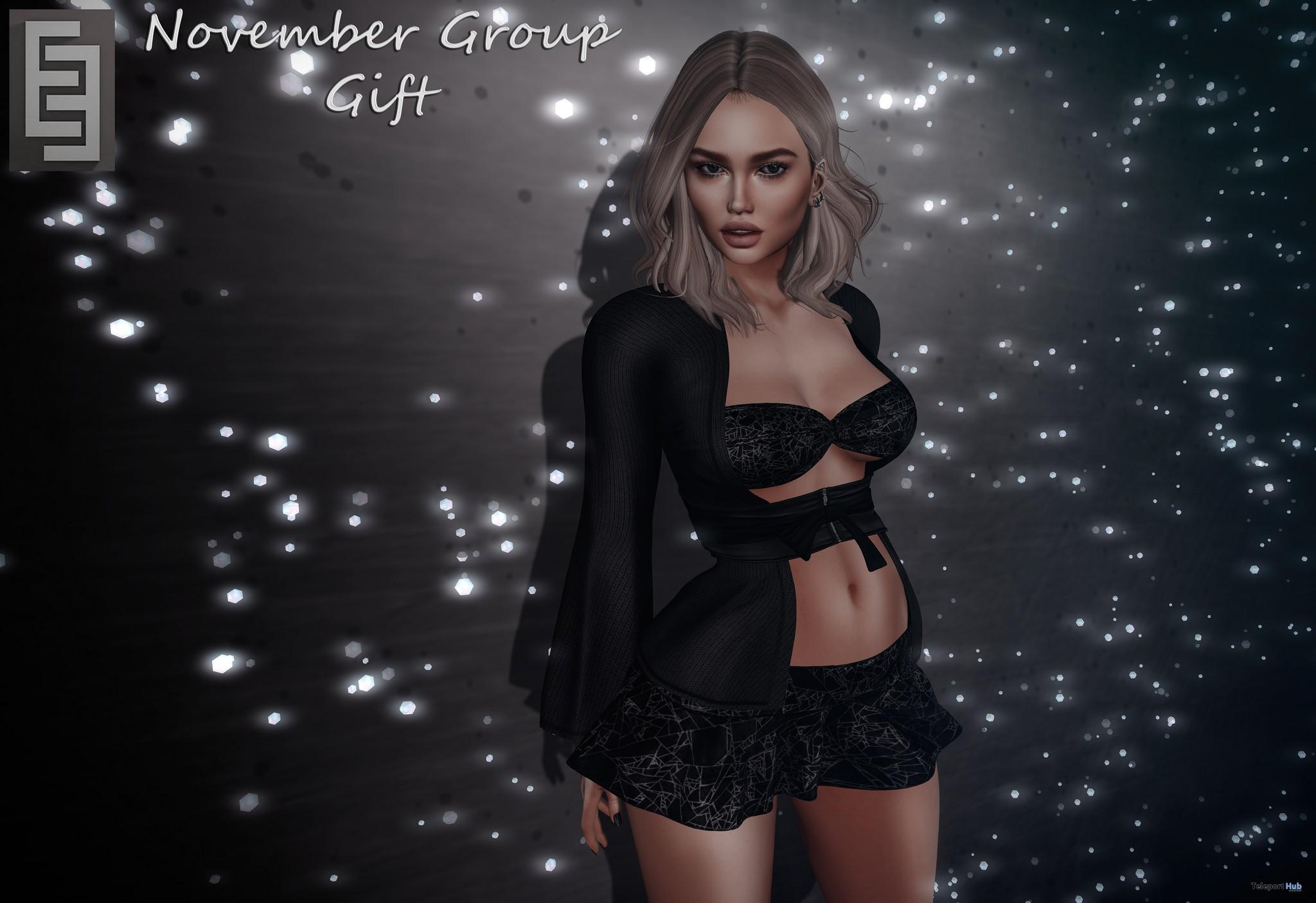 Skirt With Top V5 November 2017 Group Gift by Elven Elder - Teleport Hub - teleporthub.com