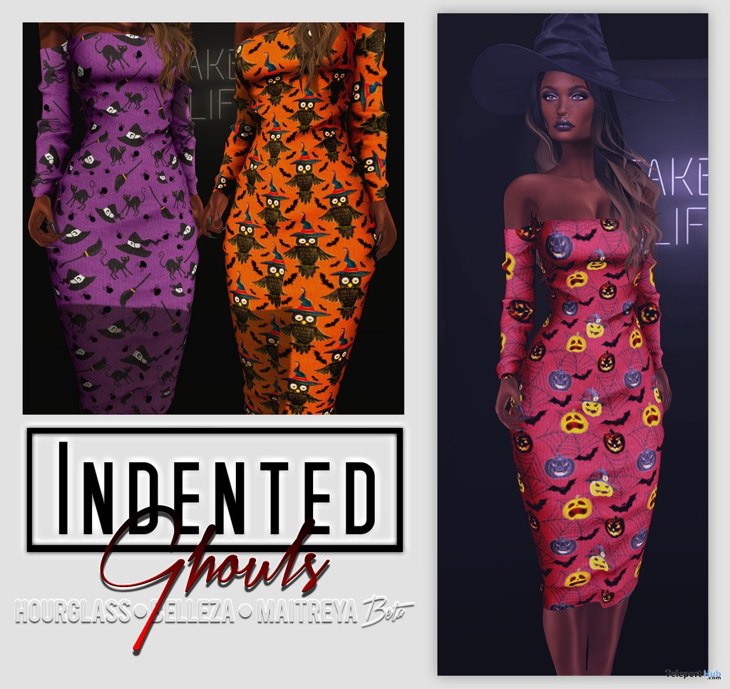 Ghouls Dress Halloween 2017 Gift by Indented - Teleport Hub - teleporthub.com