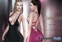 New Release: Seya Mini Dress by Casadel @ Shiny Shabby November 2017 - Teleport Hub - teleporthub.com