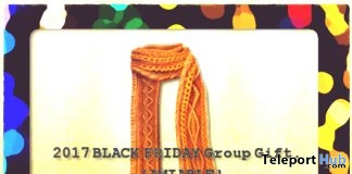 Pompon Knit Muffler Black Friday 2017 Group Gift by {amiable} - Teleport Hub - teleporthub.com