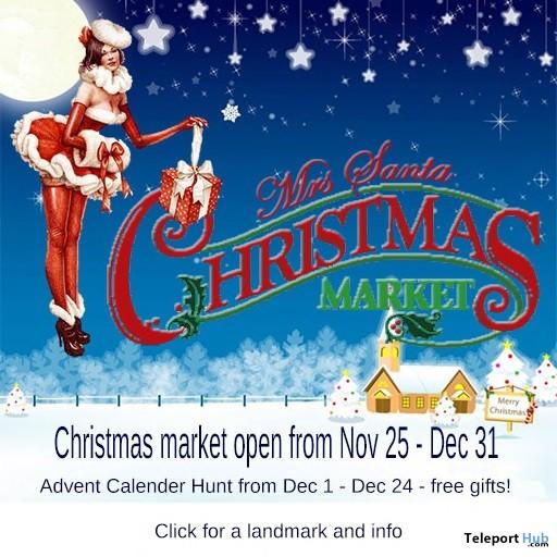 Mrs Santa Christmas Market & Hunt 2017 - Teleport Hub - teleporthub.com