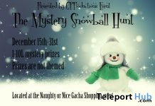 The Mystery Snowball Hunt - Teleport Hub - teleporthub.com