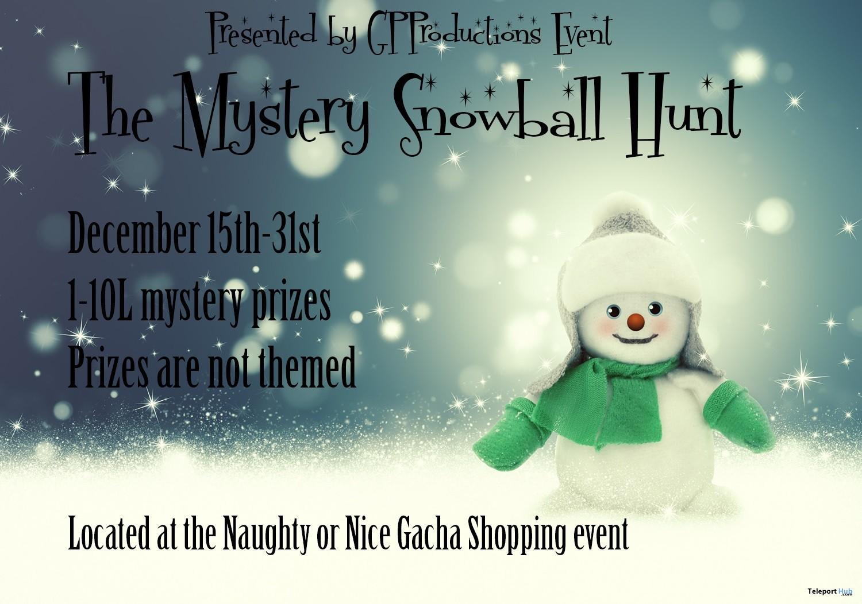 The Mystery Snowball Hunt - Teleport Hub - teleporthub.com