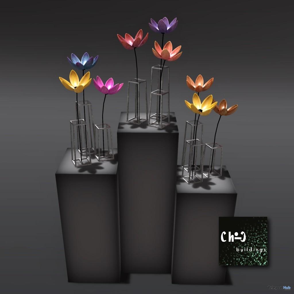 Metal Flowers Gift by ChiC Buildings - Teleport Hub - teleporthub.com