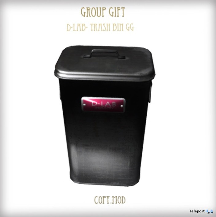 Trash Bin Group Gift by D-LAB - Teleport Hub - teleporthub.com