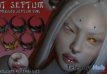 Kit Septum KURENAI Event December 2017 Gift by The Ugly & Beautiful Designs - Teleport Hub - teleporthub.com