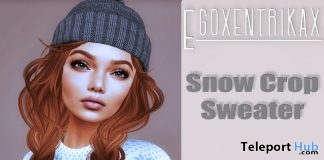 Snow Crop Sweater December 2017 Group Gift by Egoxentrikax - Teleport Hub - teleporthub.com