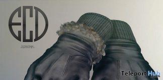 Unisex Bento Gloves December 2017 Group Gift by E-Clipse Design - Teleport Hub - teleporthub.com