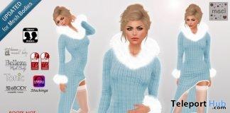 Crystalia Dress December 2017 Group Gift by Maci - Teleport Hub - teleporthub.com