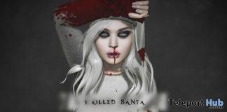 I Killed Santa Top December 2017 Group Gift by Psycho Barbie - Teleport Hub - teleporthub.com