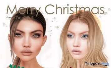 Taylor 2 Catwa Head Applier Christmas 2017 Gift by DeeTaleZ - Teleport Hub - teleporthub.com