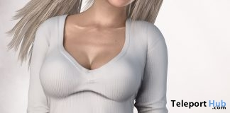Laced Top With HUD December 2017 Gift by Blueberry - Teleport Hub - teleporthub.com