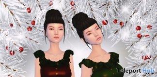 Mayara Dress Christmas 2017 Group Gift by Z Black Store - Teleport Hub - teleporthub.com
