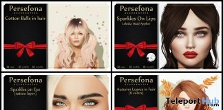 Makeup Appliers, Cotton Balls, & Leaves Gifts by Persefona - Teleport Hub - teleporthub.com