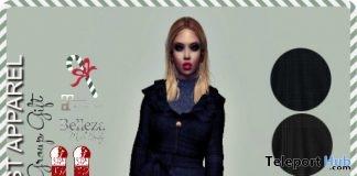 Kabira Coat December 2017 Group Gift by Sevyn East - Teleport Hub - teleporthub.com