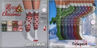 Holiday Stockings & Christmas Socks December 2017 Group Gift by Graffitiwear - Teleport Hub - teleporthub.com