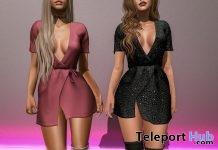 New Release: Selena Dress by Clef de Peau @ Shiny Shabby December 2017 - Teleport Hub - teleporthub.com
