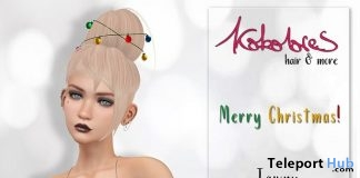 Twany Hair Christmas 2017 Group Gift by KoKoLoReS - Teleport Hub - teleporthub.com