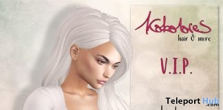 Loulou Hair December 2017 Group Gift by KoKoLoReS - Teleport Hub - teleporthub.com