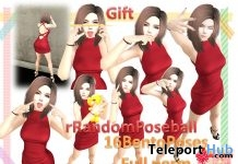 rRandomPoses 16 Cute Bento Poses Full Perm Gift by A&R Haven - Teleport Hub - teleporthub.com