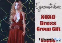 XOXO New Year Dress January 2018 Group Gift by Egoxentrikax - Teleport Hub - teleporthub.com