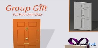 Front Door Full Perm January 2018 Group Gift by PiCaZZo - Teleport Hub - teleporthub.com