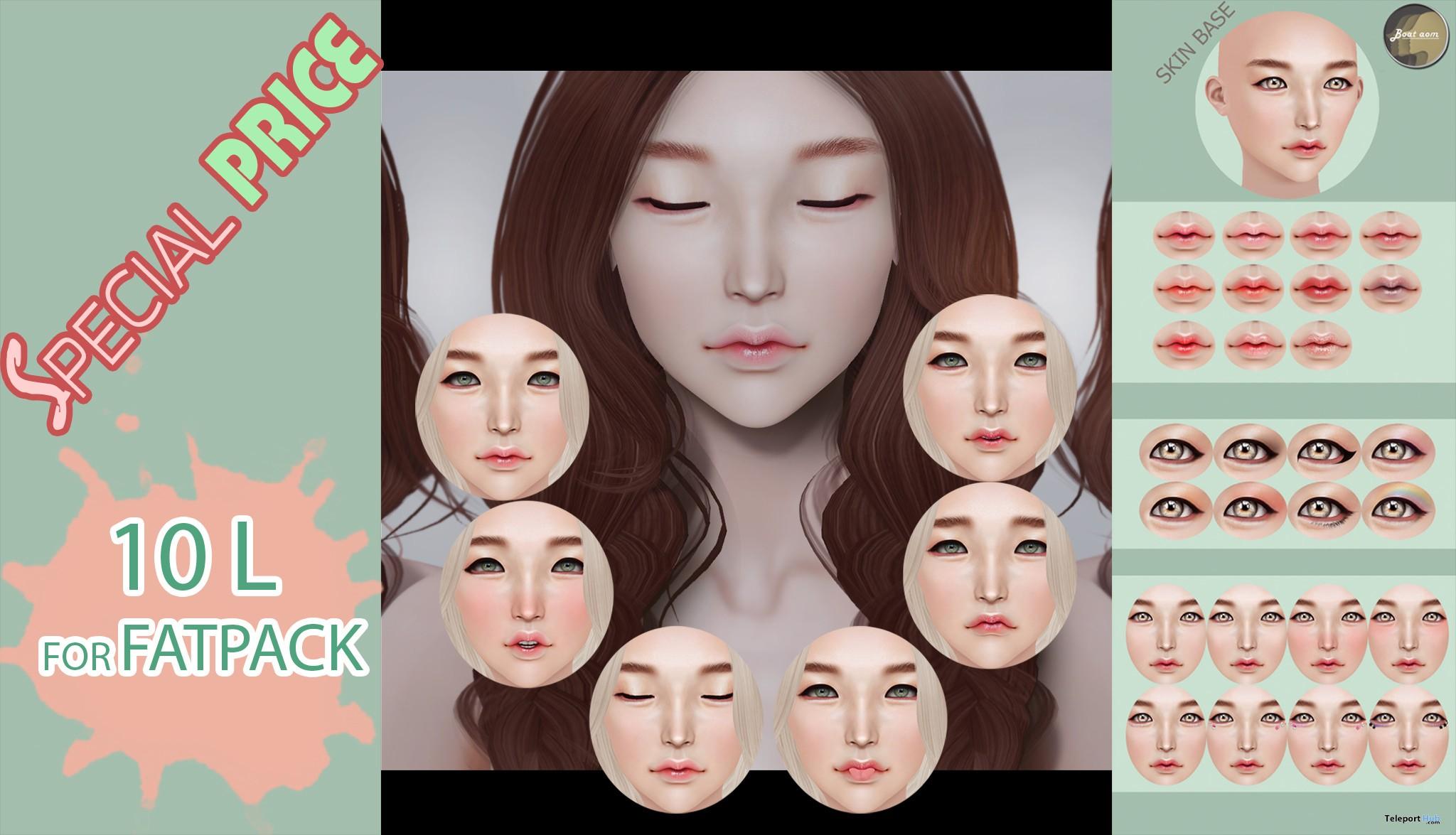 Takaru Mesh Head With Makeup Options Fatpack 10L Promo Gift by Baotaom - Teleport Hub - teleporthub.com