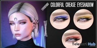 Colorful Crease Eyeshadow January 2018 Group Gift by Asteroidbox - Teleport Hub - teleporthub.com