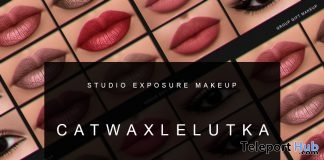 January Makeup Collection For Catwa & Lelutka Heads January 2018 Group Gift by STUDIO EXPOSURE MAKEUP - Teleport Hub - teleporthub.com