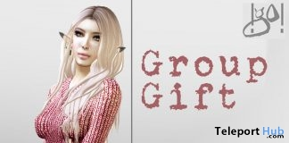 Autumn Knitted Dress Valentine 2018 Group Gift by !gO! - Teleport Hub - teleporthub.com